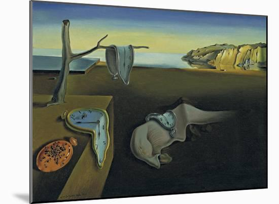 The Persistence of Memory-Salvador Dal?-Mounted Art Print