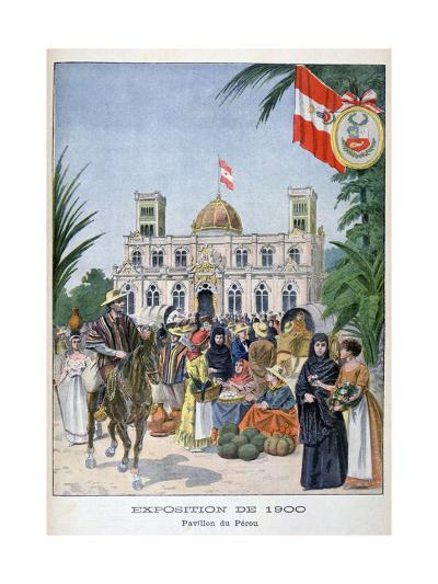 The Peruvian Pavilion at the Universal Exhibition of 1900, Paris, 1900--Giclee Print