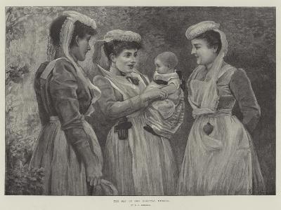 The Pet of the Hospital Nurses--Giclee Print