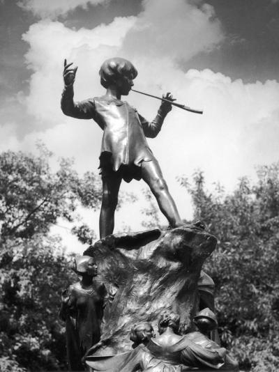 The Peter Pan Monument was Erected-J^ Chettleburgh-Photographic Print