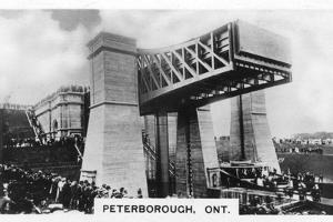 The Peterborough Lift Lock, Ontario, Canada, C1920S
