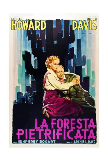 The Petrified Forest - (#1) Vintage Movie Poster-Lantern Press-Art Print