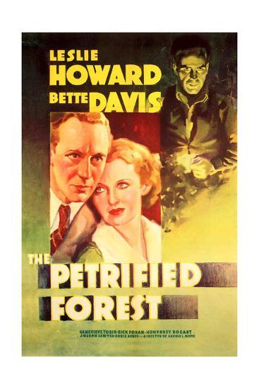 The Petrified Forest - (#2) Vintage Movie Poster-Lantern Press-Art Print