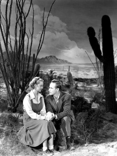 The Petrified Forest, Bette Davis, Leslie Howard, 1936--Photo