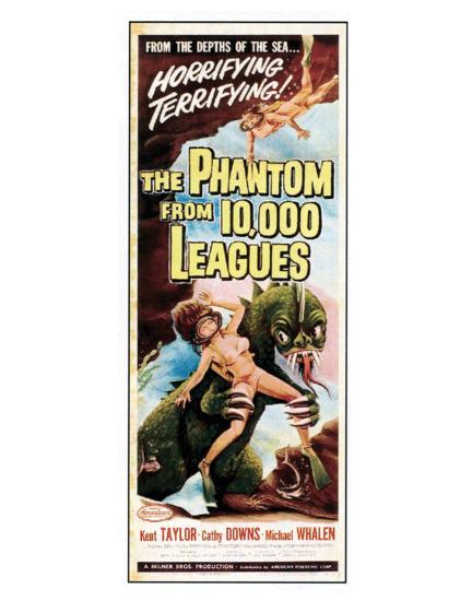 The Phantom From 10,000 Leagues - 1955 II--Giclee Print