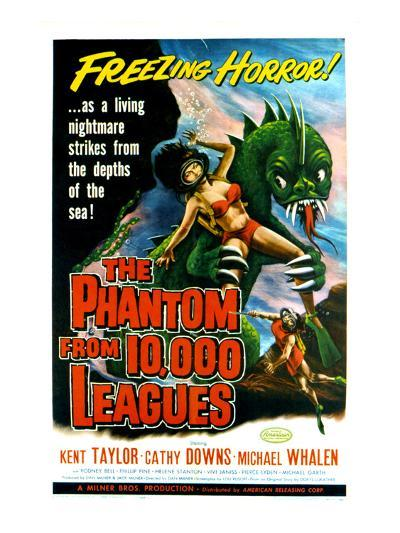 The Phantom From 10,000 Leagues, 1956--Photo