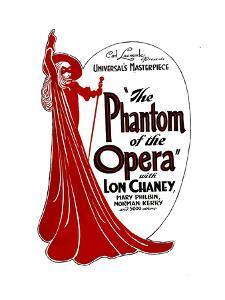 THE PHANTOM OF THE OPERA, 1925.