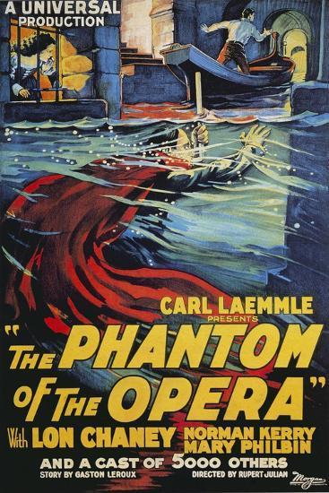 The Phantom of the Opera Movie Lon Chaney 1925--Art Print