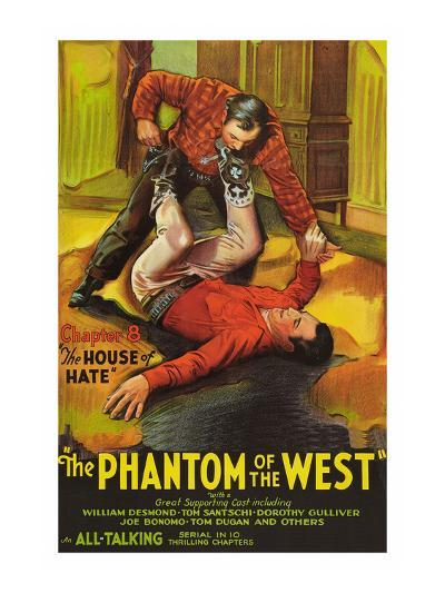 The Phantom of the West - House of Hate--Art Print