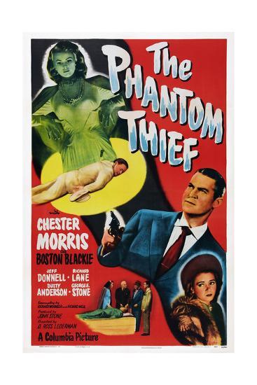 The Phantom Thief--Giclee Print