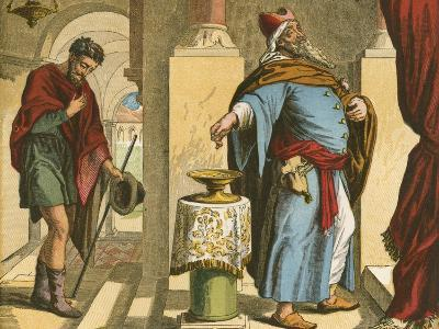 The Pharisee and the Publican-English School-Giclee Print