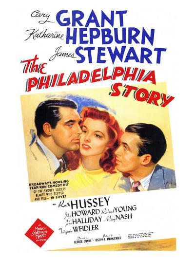 The Philadelphia Story, 1940--Art Print
