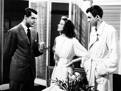 The Philadelphia Story 1940 Cary Grant Hepburn Stewart 12x18 Movie Poster
