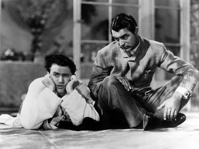The Philadelphia Story, James Stewart, Cary Grant, 1940--Photo