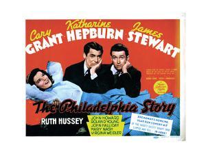 The Philadelphia Story, Katharine Hepburn, Cary Grant, James Stewart, 1940