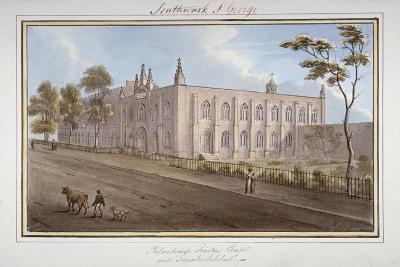 The Philanthropic Society Institution, Southwark, London, 1825-G Yates-Giclee Print