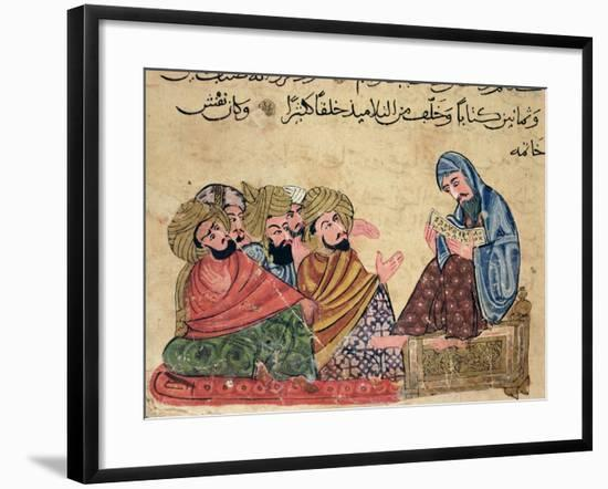 """The Philosopher, from """"The Better Sentences and Most Precious Dictations"""" by Al-Moubacchir--Framed Giclee Print"""