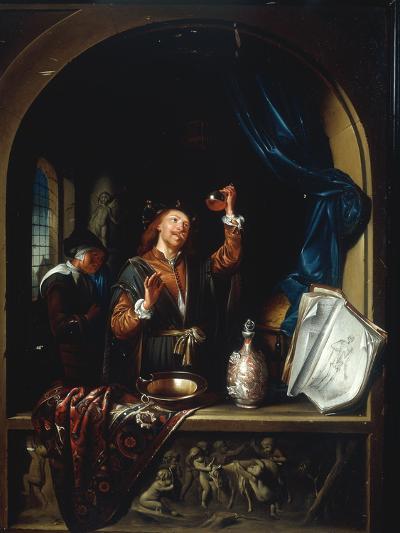 The Physician-Gerard Dou-Giclee Print