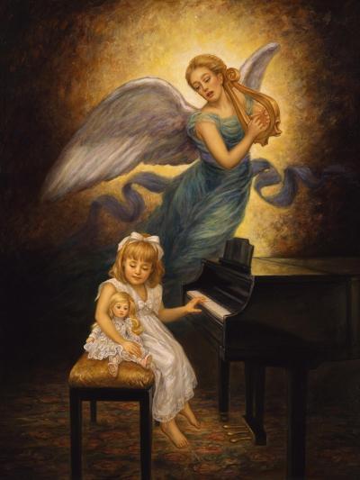 The Piano-Edgar Jerins-Giclee Print