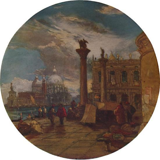 'The Piazza of St. Mark's Venice', 1853, (1935)-James Holland-Giclee Print