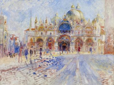 The Piazza San Marco, Venice, 1881-Pierre-Auguste Renoir-Giclee Print