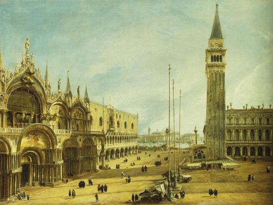 The Piazza San Marco, Venice-Michele Marieschi-Giclee Print