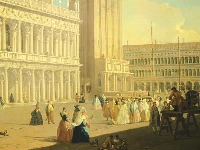 The Piazzetta, Venice-Luca Carlevarijs-Giclee Print