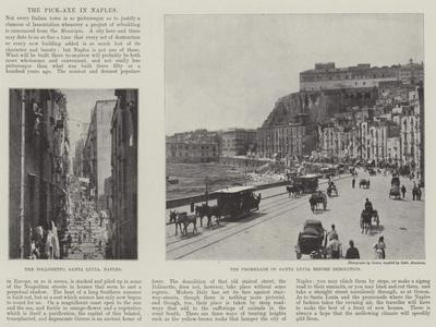 The Pick-Axe in Naples--Giclee Print