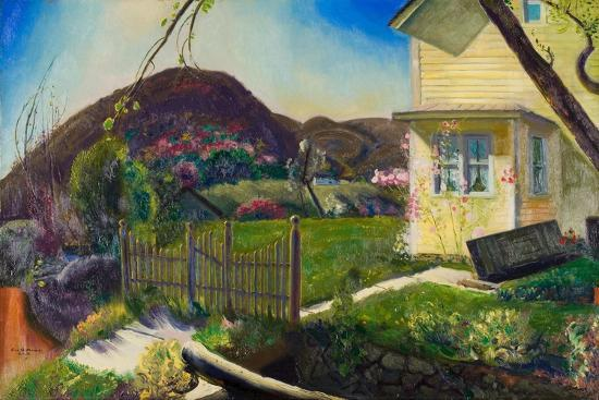 The Picket Fence, 1924-George Wesley Bellows-Giclee Print