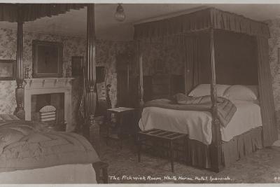 The Pickwick Room, White Horse Hotel, Ipswich--Photographic Print