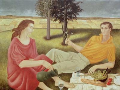 The Picnic, 1994-Patricia O'Brien-Giclee Print