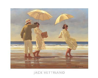 The Picnic Party II-Jack Vettriano-Art Print