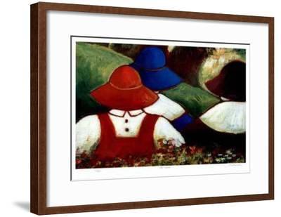 The Picnic-Carol Ann Shelton-Framed Limited Edition