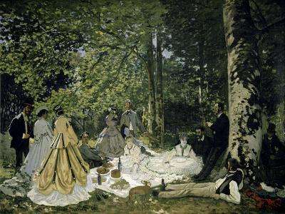 The Picnic-Claude Monet-Giclee Print