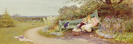 The Picture Book, 1903 (W/C on Paper)-Thomas James Lloyd-Giclee Print