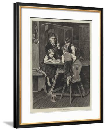 The Picture-Book--Framed Giclee Print