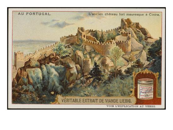 The Picturesque Ancient Moorish Castle--Giclee Print