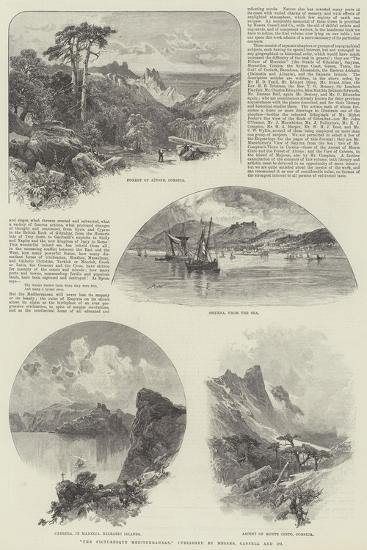 The Picturesque Mediterranean, Published by Messers Cassell and Company--Giclee Print