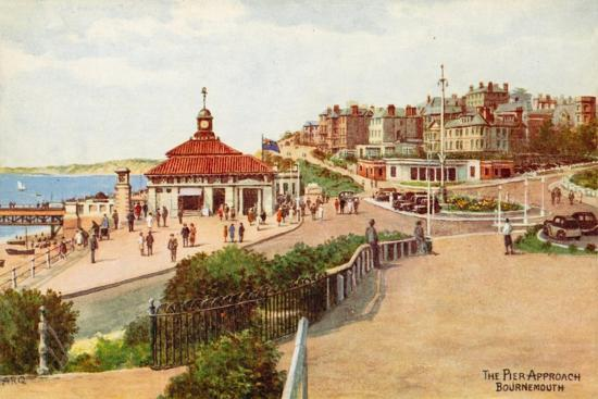 The Pier Approach, Bournemouth-Alfred Robert Quinton-Giclee Print