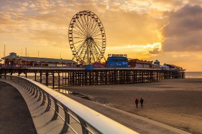 The Pier, Blackpool, Lancashire, England, United Kingdom, Europe-Billy-Photographic Print