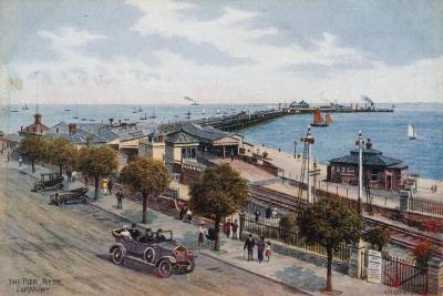 The Pier, Ryde, I of Wight-Alfred Robert Quinton-Giclee Print