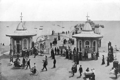 The Pier, Worthing, West Sussex, C1900s-C1920s--Giclee Print