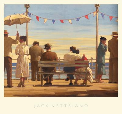 The Pier-Jack Vettriano-Art Print