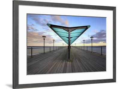 The Pier-Rob Cherry-Framed Giclee Print