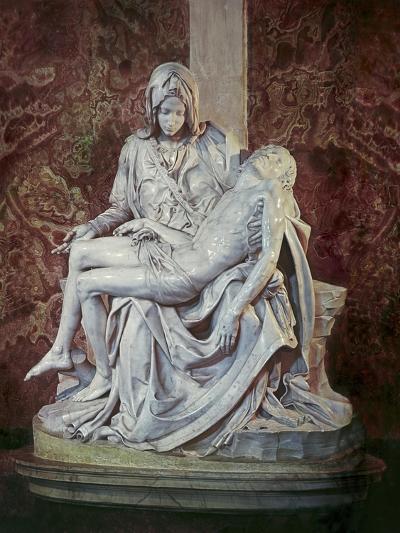 The Pieta-Michelangelo Buonarroti-Giclee Print