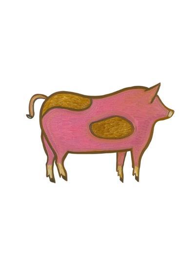 The Pig,2009-Cristina Rodriguez-Giclee Print