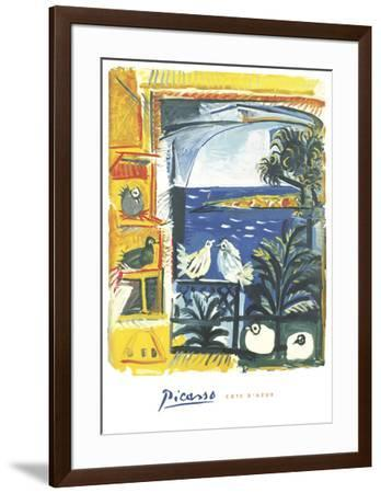 The Pigeons, 1957-Pablo Picasso-Framed Art Print