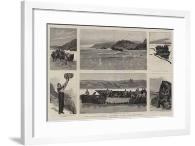 The Pilchard-Fishing Industry at St Ive's, Cornwall-Joseph Nash-Framed Giclee Print