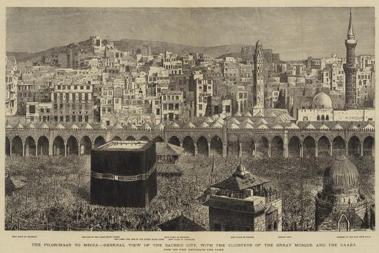 The Pilgrimage to Mecca--Giclee Print