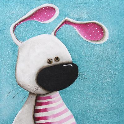 The Pink Bunny-Lucia Stewart-Wall Mural